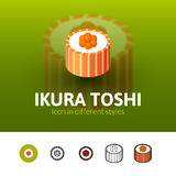 Ikura toshi icon in different style Royalty Free Stock Photo