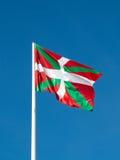 Ikurrina Baskisk landsflagga spain Arkivfoton