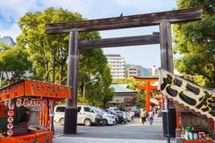 Ikuta-jinja Shrine in Kobe Stock Images