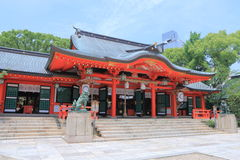Famous Ikuta Shrine Kobe Japan  Stock Images