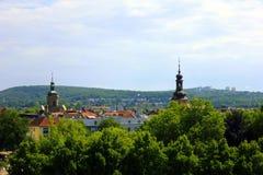 Il ¼ di Saarbrà cken in Germania fotografia stock libera da diritti