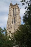 "Il †""Parigi, Francia di Jacques del san della torre fotografia stock"