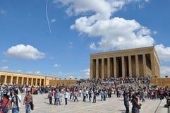 Il ¼ ŒTurkey di Ataturk Mausoleumï Fotografie Stock