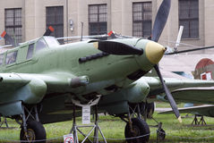 IL-2M3 Soviet fighter, Warszawa, Poland Stock Images