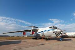 Il-76 (nom d'enregistrement de l'OTAN : Franc) Image stock