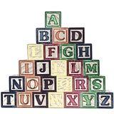 Il ABC ostruisce l'illustrazione di A-Z Immagine Stock