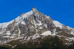 il Aiguille-du-Midi Fotografia Stock