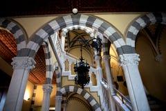 Il ` Albertis di Castello d è una residenza storica in Genoa Italy Attualmente alloggia il museo delle culture del mondo, Immagini Stock
