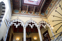 Il ` Albertis di Castello d è una residenza storica in Genoa Italy Attualmente alloggia il museo delle culture del mondo, Fotografia Stock