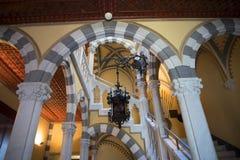 Il ` Albertis di Castello d è una residenza storica in Genoa Italy Attualmente alloggia il museo delle culture del mondo, Fotografie Stock