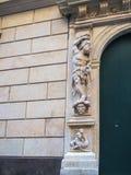 Il ` Albertis di Castello d è una residenza storica in Genoa Italy Attualmente alloggia il museo delle culture del mondo, Immagine Stock Libera da Diritti