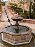 Il Alcazaba a Almeria, Spagna Fotografia Stock