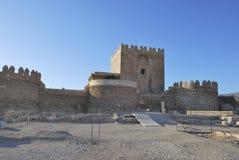 Il Alcazaba di Almeria Immagine Stock Libera da Diritti