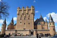 Il Alcazar di Segovia Immagini Stock Libere da Diritti