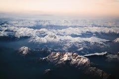 Il Alpes Fotografie Stock Libere da Diritti