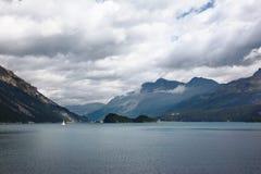 Il Alpes svizzero, autunno in anticipo Fotografia Stock Libera da Diritti