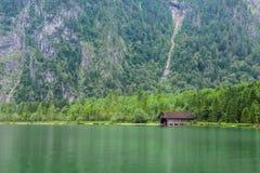 Il Alpsee è un lago in Baviera, Germania ` s situato vicino a Berchtesgaden Konigssee Immagine Stock Libera da Diritti
