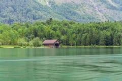Il Alpsee è un lago in Baviera, Germania ` s situato vicino a Berchtesgaden Konigssee Fotografie Stock Libere da Diritti