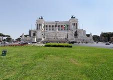 Il Altare Della Patria a Roma Immagine Stock