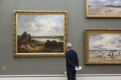 Il Alte Pinakothek a Monaco di Baviera Fotografie Stock Libere da Diritti