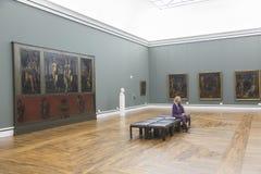 Il Alte Pinakothek a Monaco di Baviera Fotografia Stock