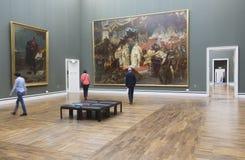 Il Alte Pinakothek a Monaco di Baviera Immagini Stock Libere da Diritti