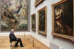 Il Alte Pinakothek - Monaco di Baviera Fotografie Stock