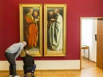 Il Alte Pinakothek - Monaco di Baviera, Germania Fotografia Stock Libera da Diritti