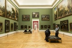 Il Alte Pinakothek - Monaco di Baviera, Germania Fotografia Stock