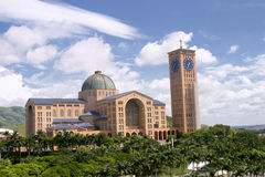 Il aparecida della basilica fa Norte Fotografia Stock