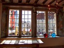 Il Aphothecary del consiglio comunale Tallin L'Estonia immagine stock