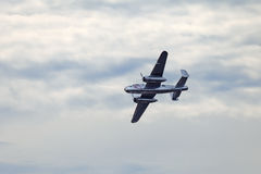 Il B-25 nordamericano Mitchell Immagini Stock