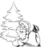 Il Babbo Natale _2 illustrazione di stock