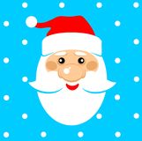 Il Babbo Natale _2 Fotografie Stock Libere da Diritti