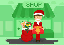 Il Babbo Natale _2 Immagini Stock