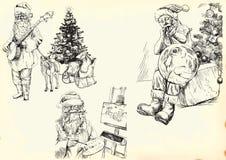 Il Babbo Natale - accumulazione 1 royalty illustrazione gratis
