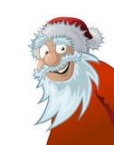 Il Babbo Natale amichevole, illustrazione Fotografie Stock Libere da Diritti