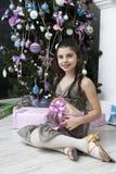 Il Babbo Natale aspettante. immagine stock