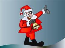 Il Babbo Natale con Bell Immagini Stock Libere da Diritti