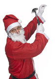 Il Babbo Natale craftman Immagine Stock