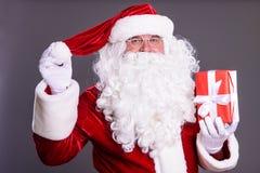 Il Babbo Natale dipinto a mano Fotografie Stock