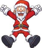 Il Babbo Natale dipinto a mano Royalty Illustrazione gratis
