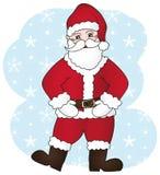 Il Babbo Natale felice Fotografia Stock Libera da Diritti
