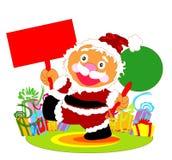 Il Babbo Natale felice Fotografie Stock Libere da Diritti