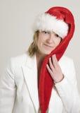 Il Babbo Natale femminile fotografia stock