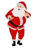 Il Babbo Natale - illustrazione di vettore illustrazione di stock