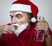Il Babbo Natale molto cattivo fotografia stock libera da diritti