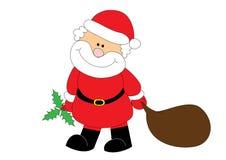 Il Babbo Natale piacevole Fotografie Stock