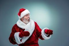 Il Babbo Natale sorpreso Fotografia Stock Libera da Diritti