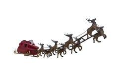 Il Babbo Natale sta venendo! Fotografia Stock Libera da Diritti